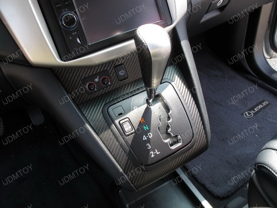 Lexus - RX - 330 - carbon - fiber - vinyl - interior - 4